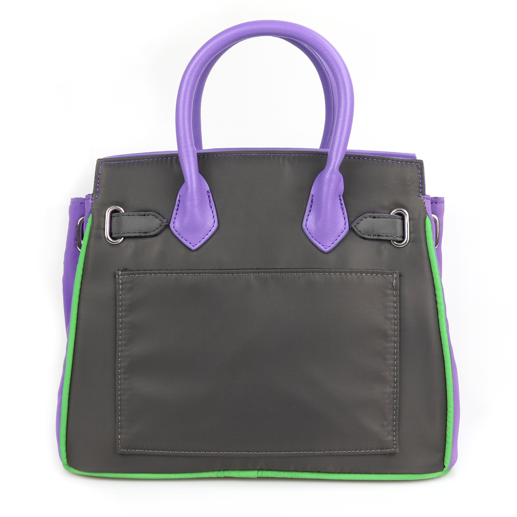 EVANGELION Small Boston Bag by mis zapatos (PURPLE(初号機))