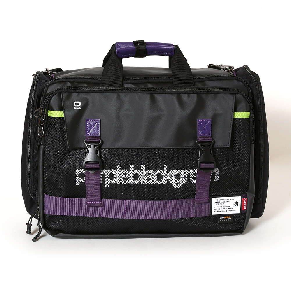 EVANGELION 3WAY BRIEF CASE by FIRE FIRST (EVA-01 MDOEL)