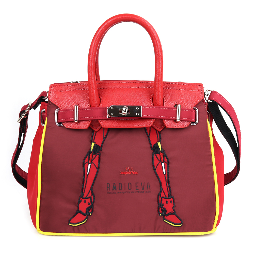 EVANGELION Small Boston Bag by mis zapatos (RED(2号機))