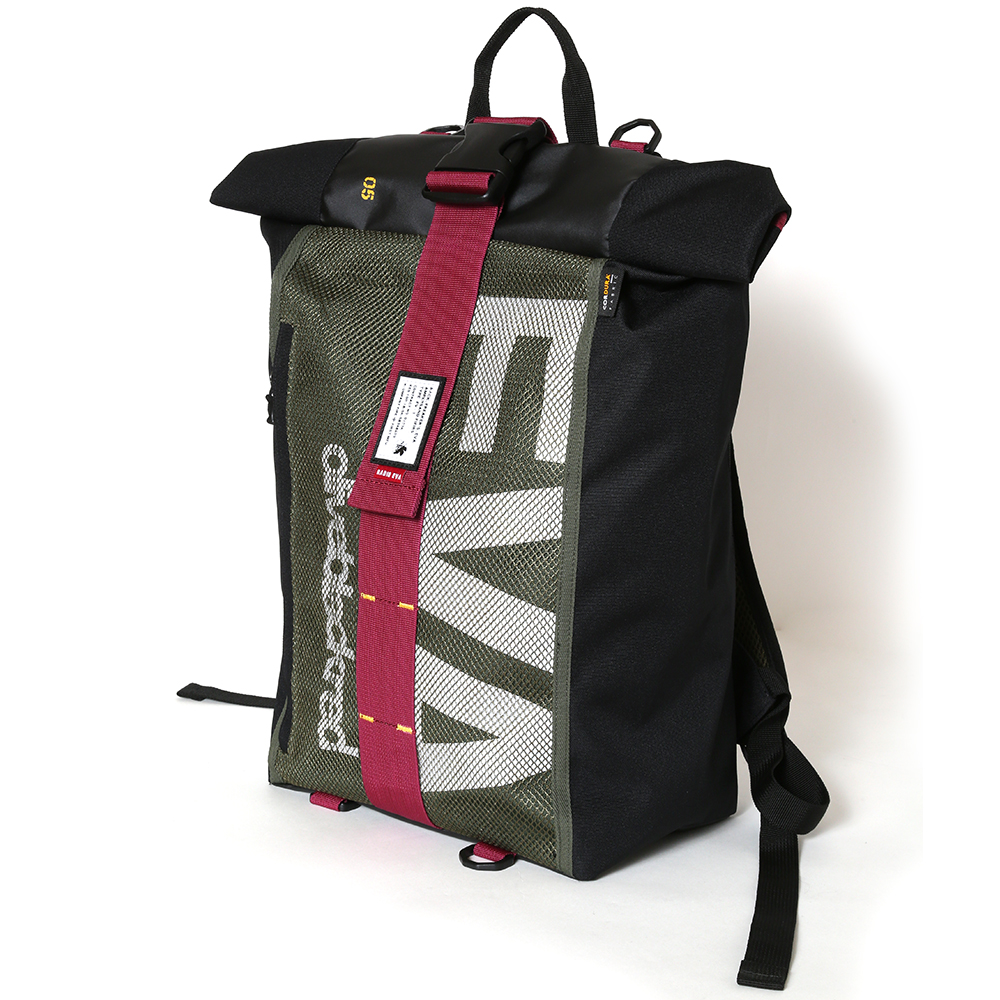 EVANGELION ROLL BACK PACK by FIRE FIRST (EVA-05 PROVISION UNIT MODEL)