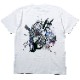 Abstract EVANGELION T-Shirt β(KENTA KAKIKAWA)(WHITE(初号機β)