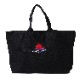 EVA-01 Flower Embroidery EVERYDAY BAG (BLACK(初号機覚醒ローズ))