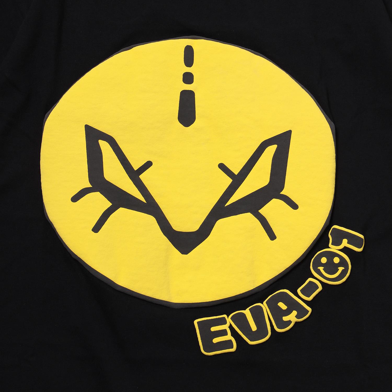 EVA-01 FACE T-Shirt (BLACK)