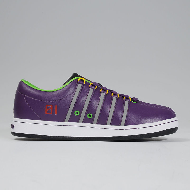 K・SWISS THE CLASSIC (EVANGELION Limited)  (Test Type 01 A[パープル])