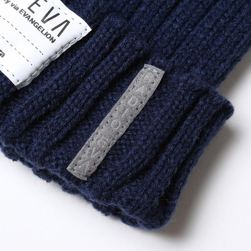 EVA Rib Knit Cap (ネイビー)