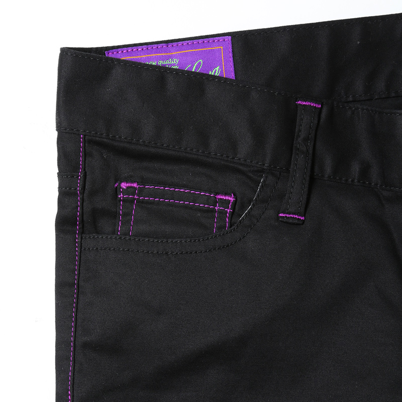 EVA Skinny Stretch Pants (ブラック)