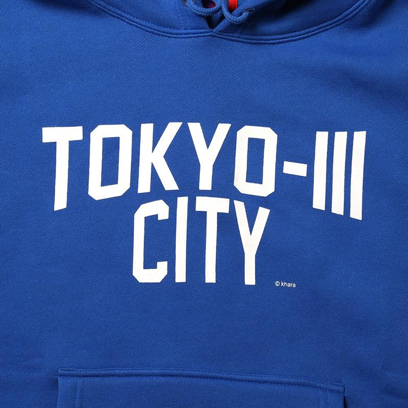 TOKYO-III CITY PARKA (ロイヤルブルー)