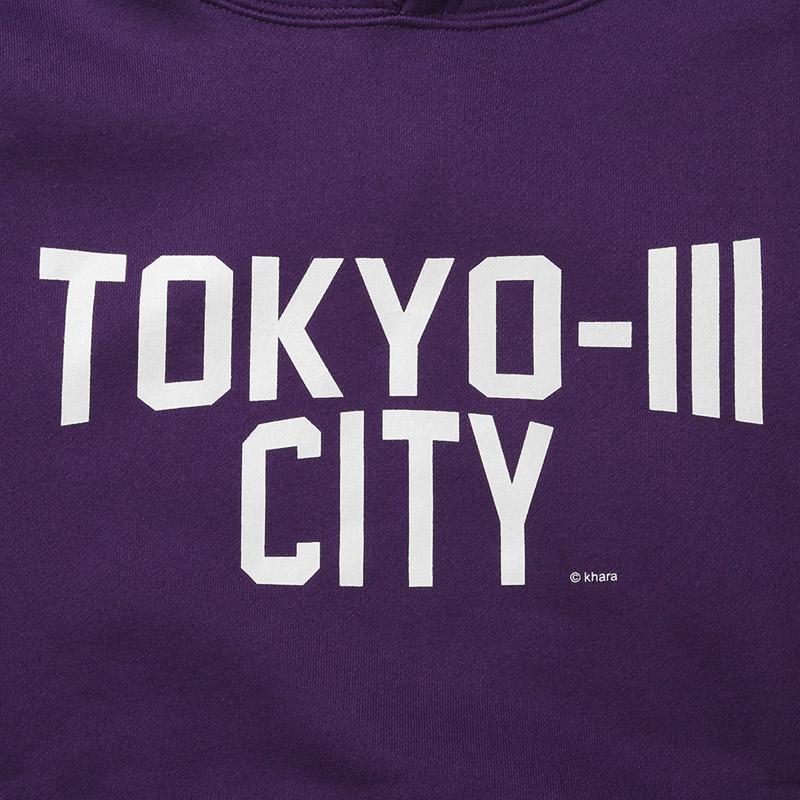 TOKYO-III CITY PARKA (パープル)