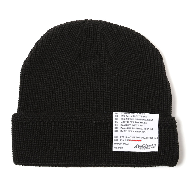 EVA BASIC KNIT CAP (BLACK)