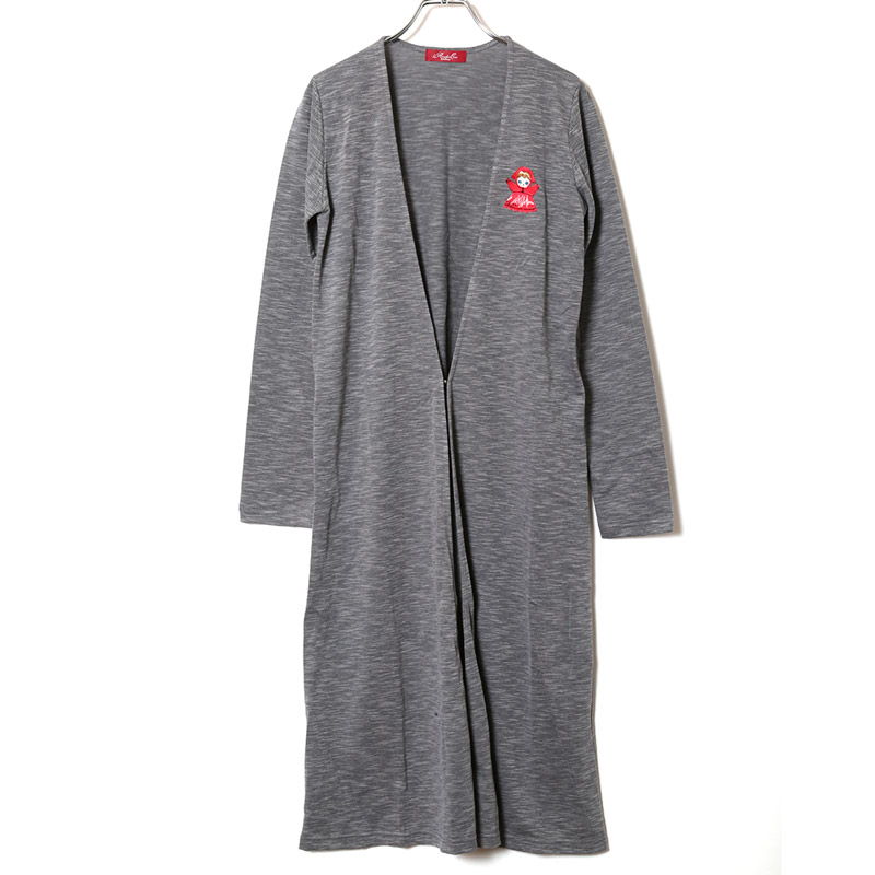 PUPPET Collection Long Cardigan (グレー)