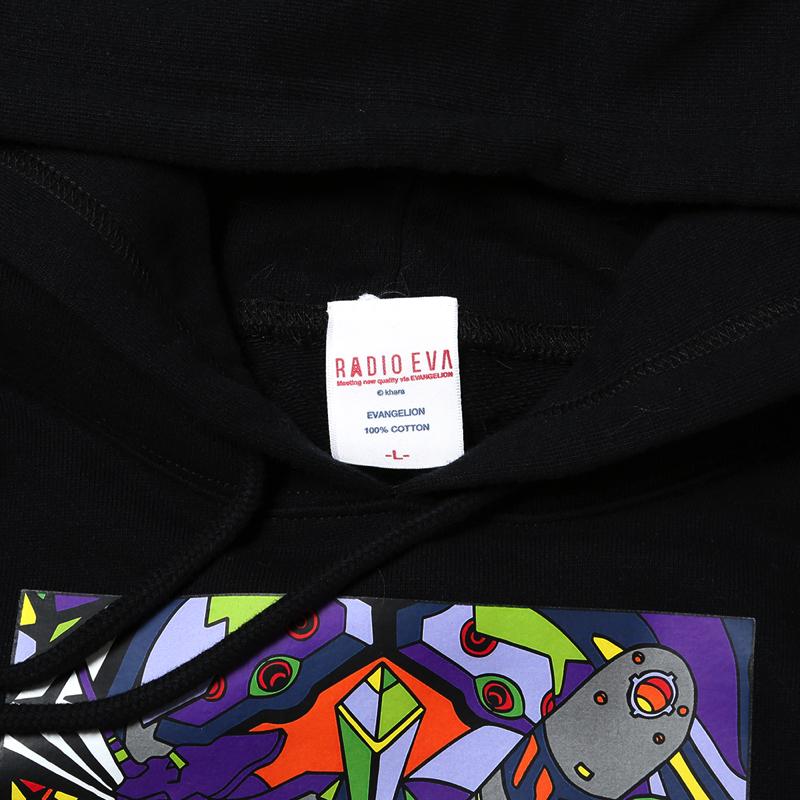 EVA Abstract Art Parka (初号機(ブラック))