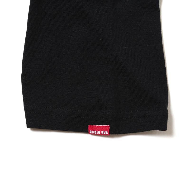 NERV Letter T-Shirt E(ブラック)