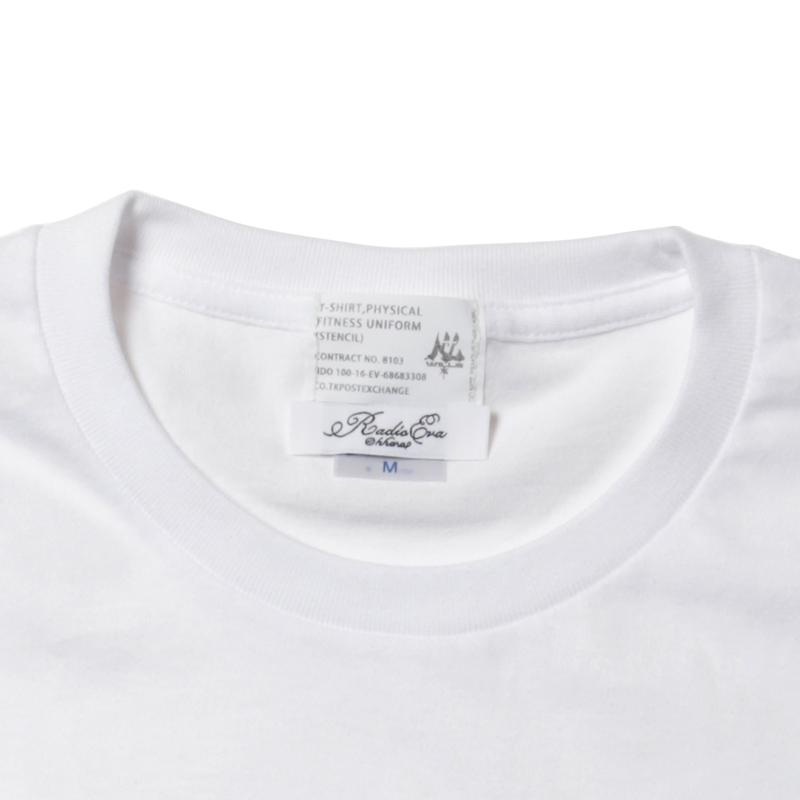 WILLE STENCIL T-Shirt by KAMIKAZE (ブラック)