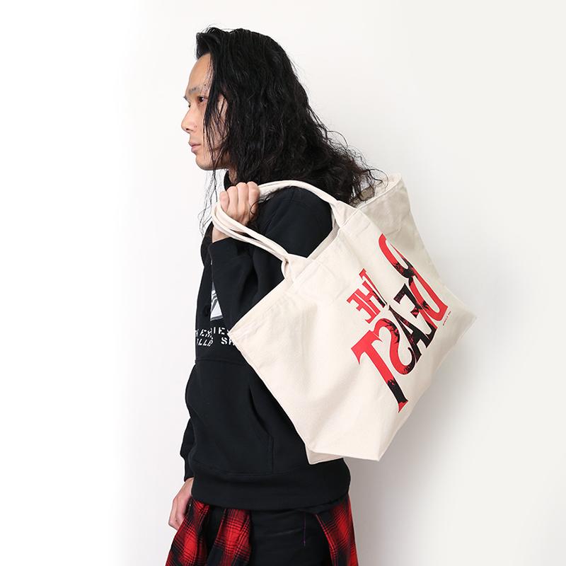"THE BEAST ""G"" Tote Bag (ナチュラル)"