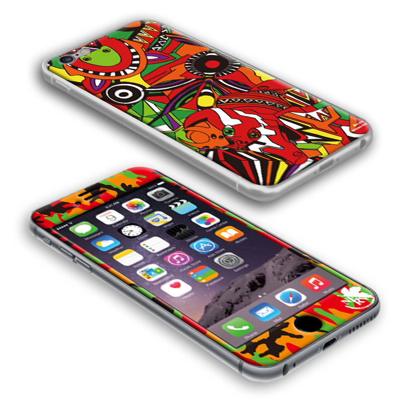 EVANGELION iPhone6/6S PROTECTOR by Gizmobies (EVA-02 MODEL)