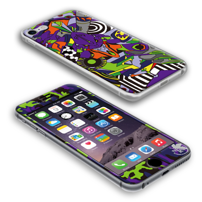 EVANGELION iPhone7/8 PROTECTOR by Gizmobies (EVA-01 MODEL)