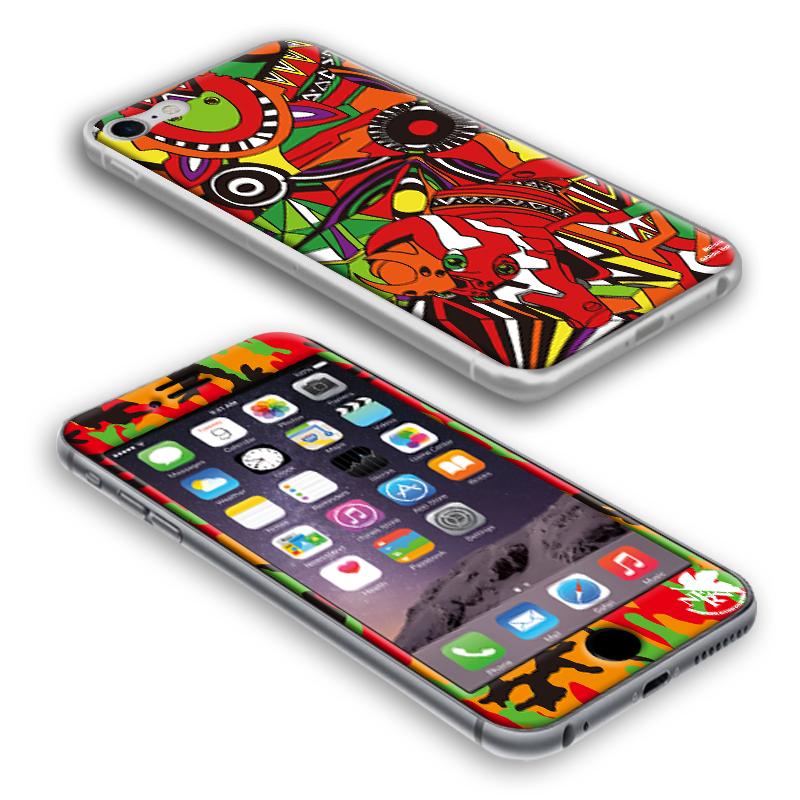 EVANGELION iPhone7/8 PROTECTOR by Gizmobies (EVA-02 MODEL)