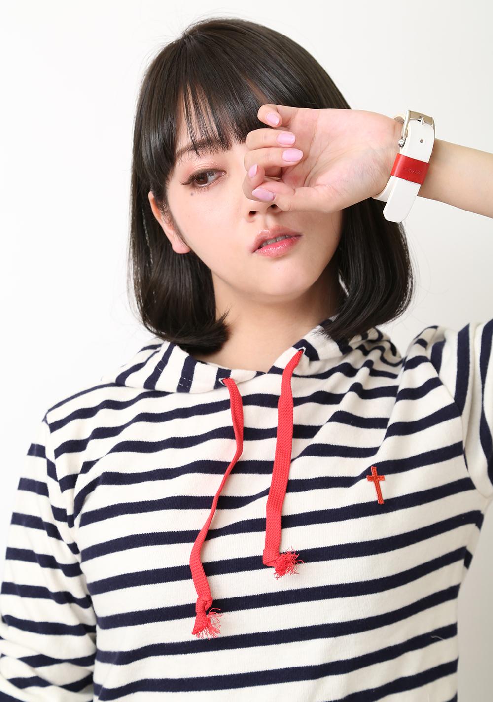 レザーブレスレット(花唐草 x BEAUDESSIN S.A.) (レイモデル)