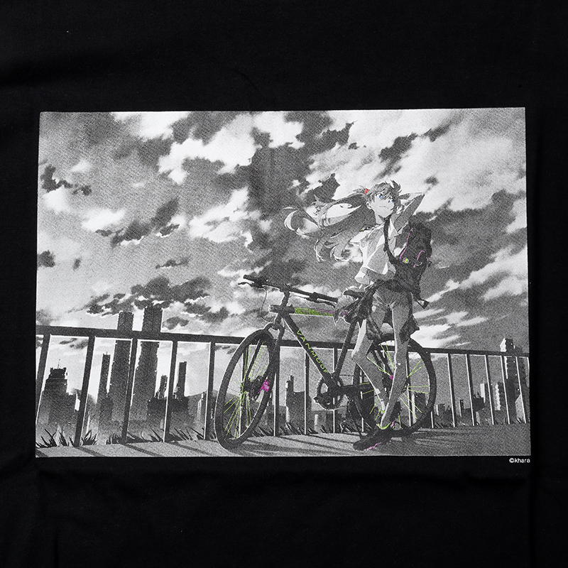 The bicycle ASUKA T-Shirt (ブラック)