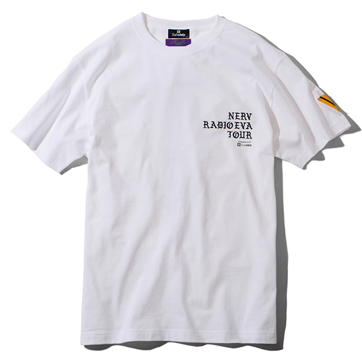 RADIO EVA TOUR S/S T-Shirt (WHITE/BLACK)