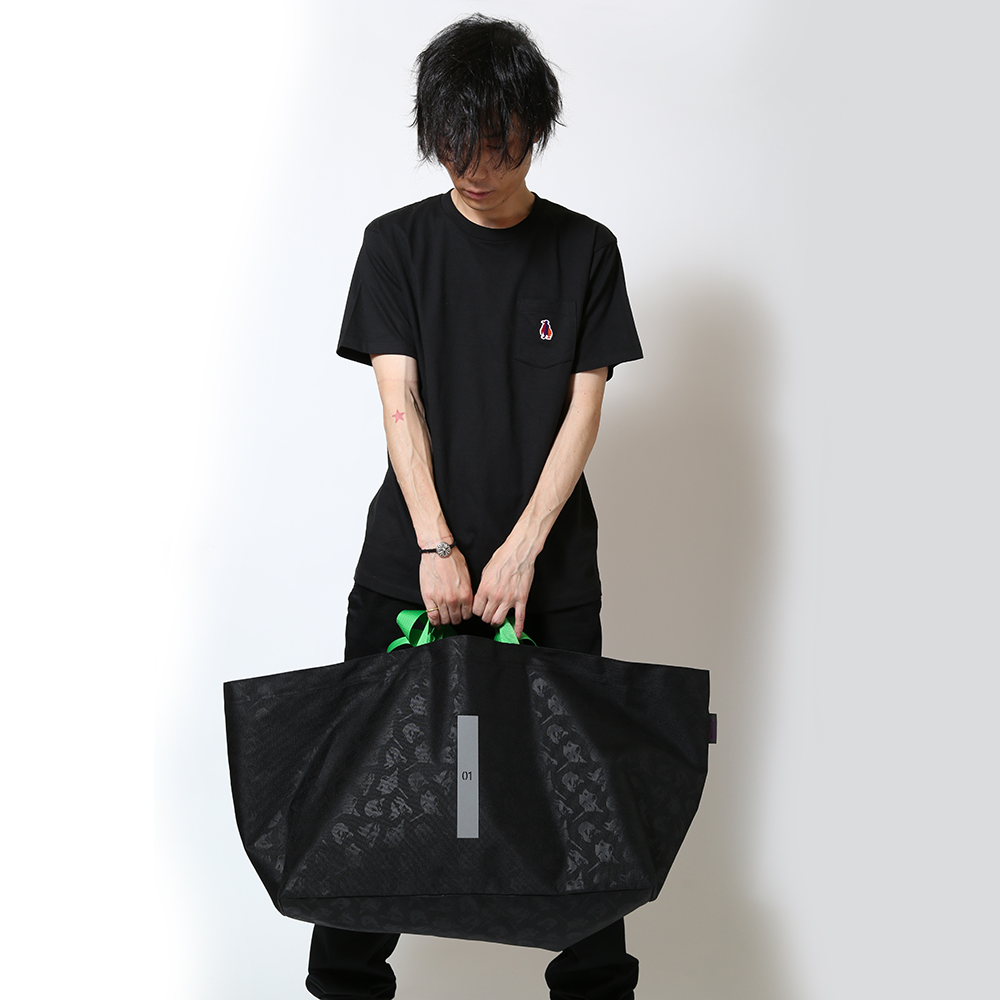 EVA W HANDLE TOTE by beruf (ブラック(初号機))
