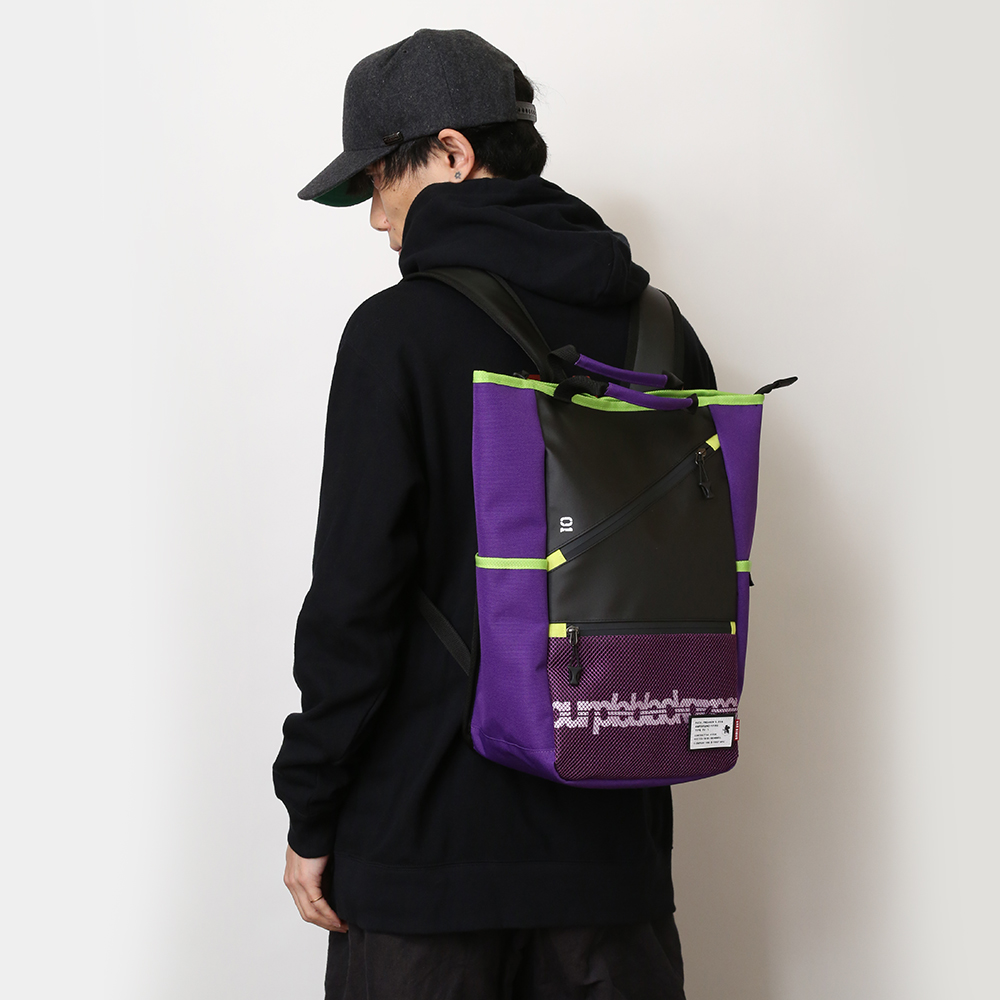 EVANGELION ZIP RUCK SACK by FIRE FIRST (EVA-05 PROVISION UNIT MODEL)