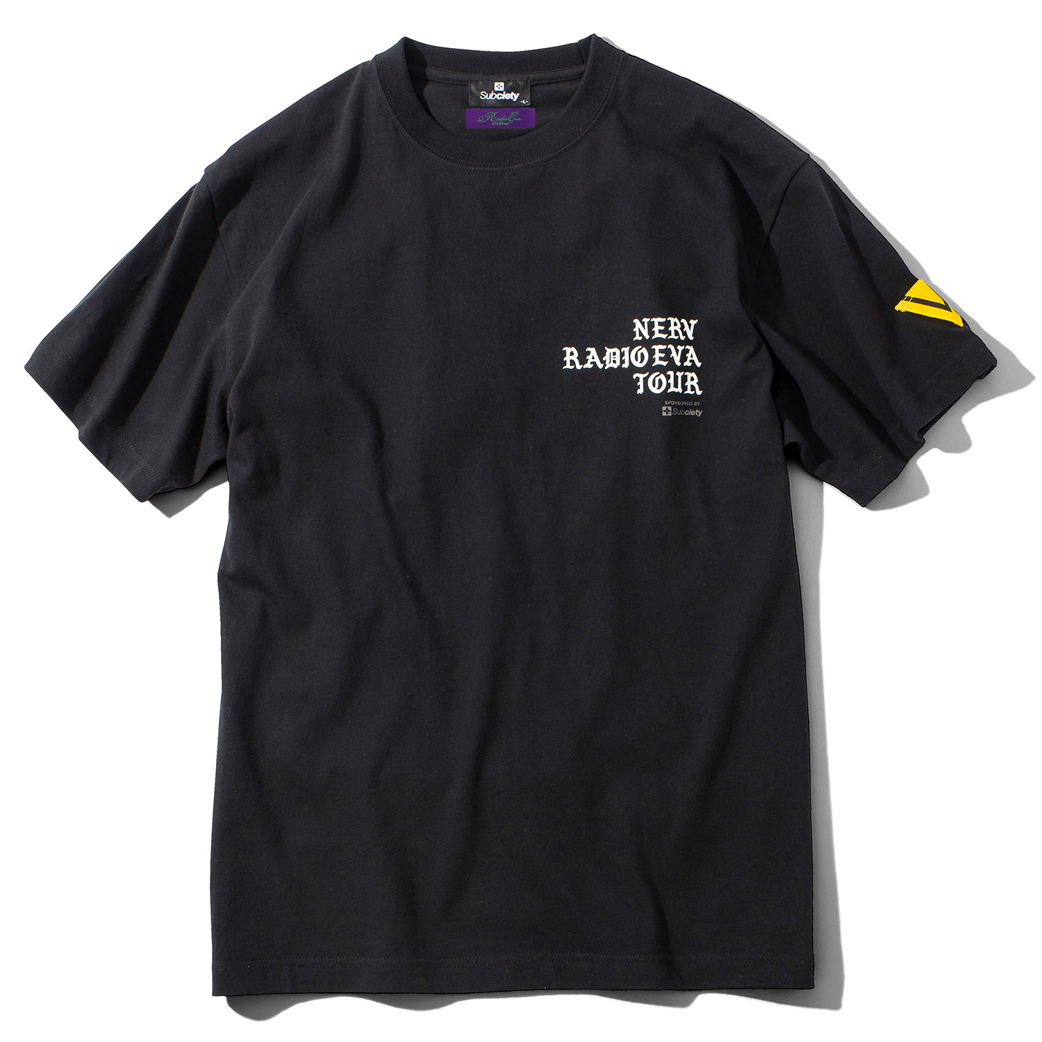 RADIO EVA TOUR S/S T-Shirt (BLACK/WHITE)