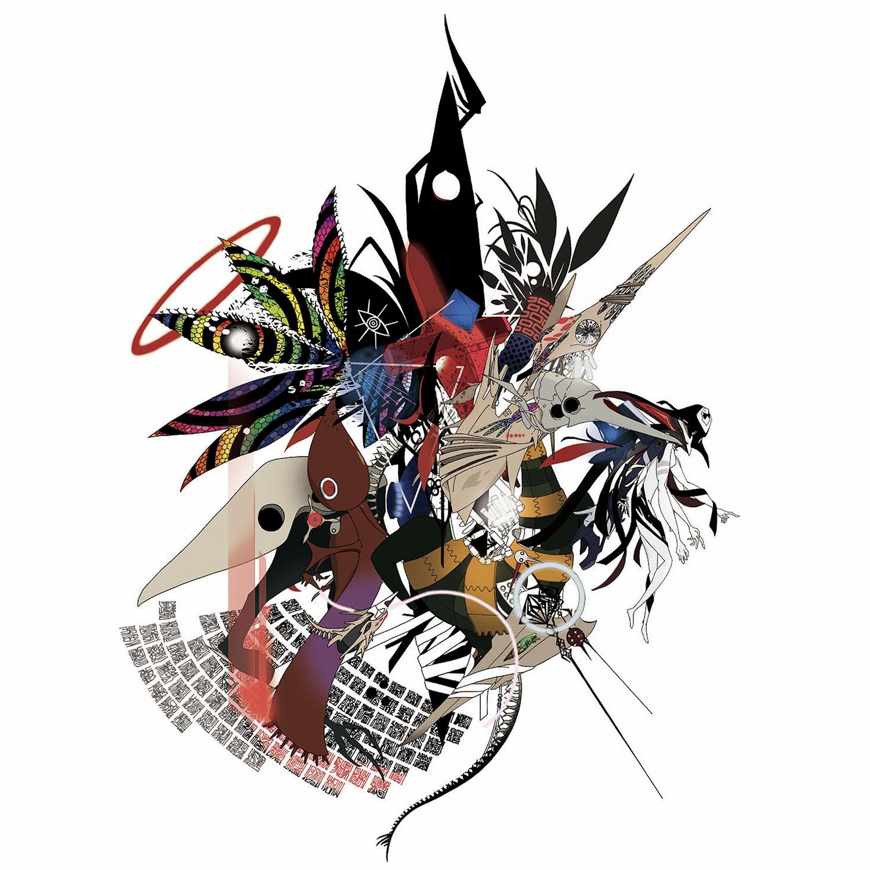 Abstract EVANGELION Cutsew (KENTA KAKIKAWA) (WHITE(使徒))