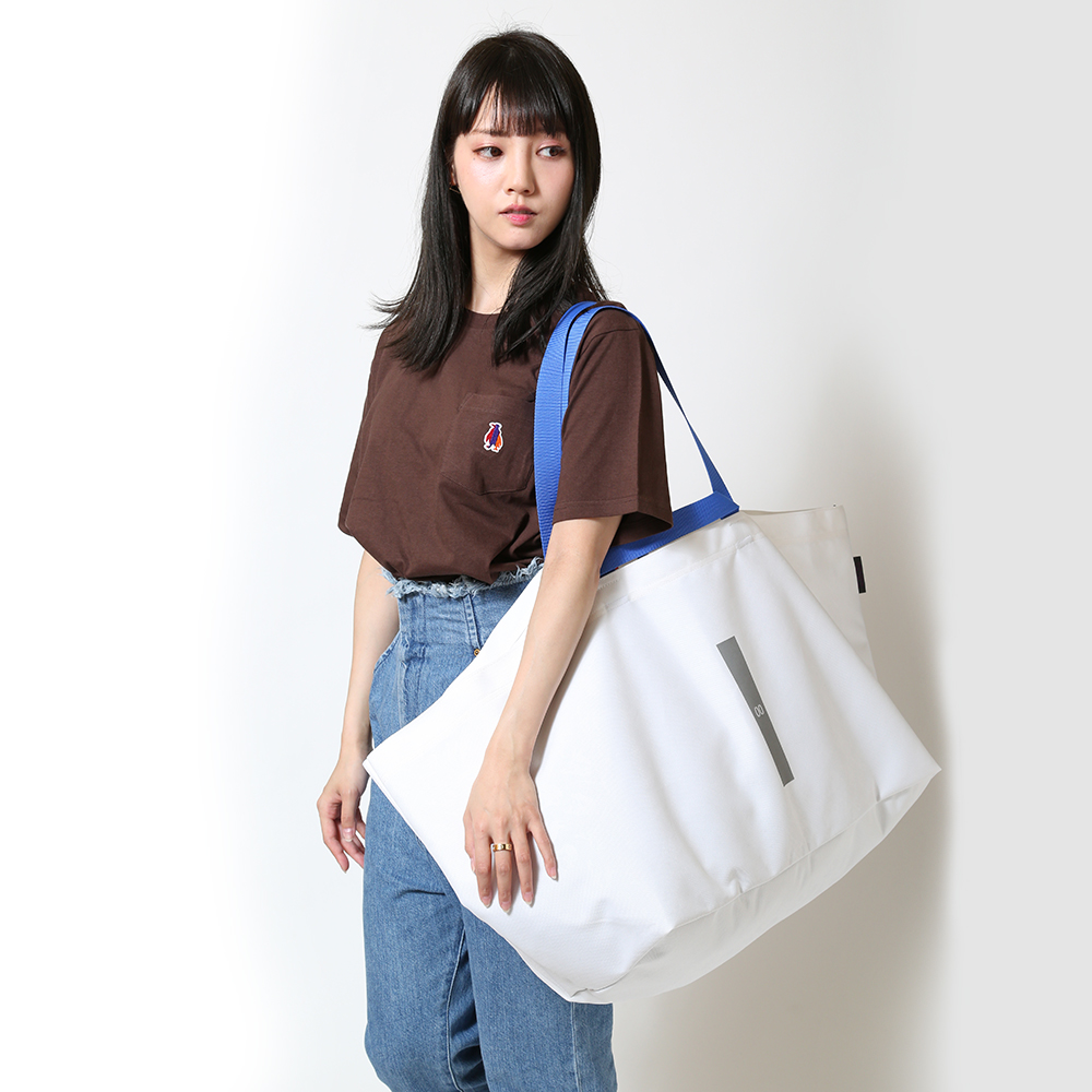 EVA W HANDLE TOTE by beruf (ホワイト(レイ))