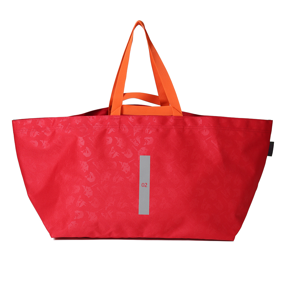 EVA W HANDLE TOTE by beruf (レッド(アスカ))