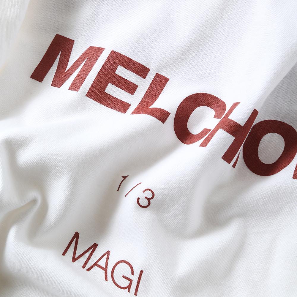 MAGI SYSTEM BIG T-Shirt (MELCHIOR(ホワイト))