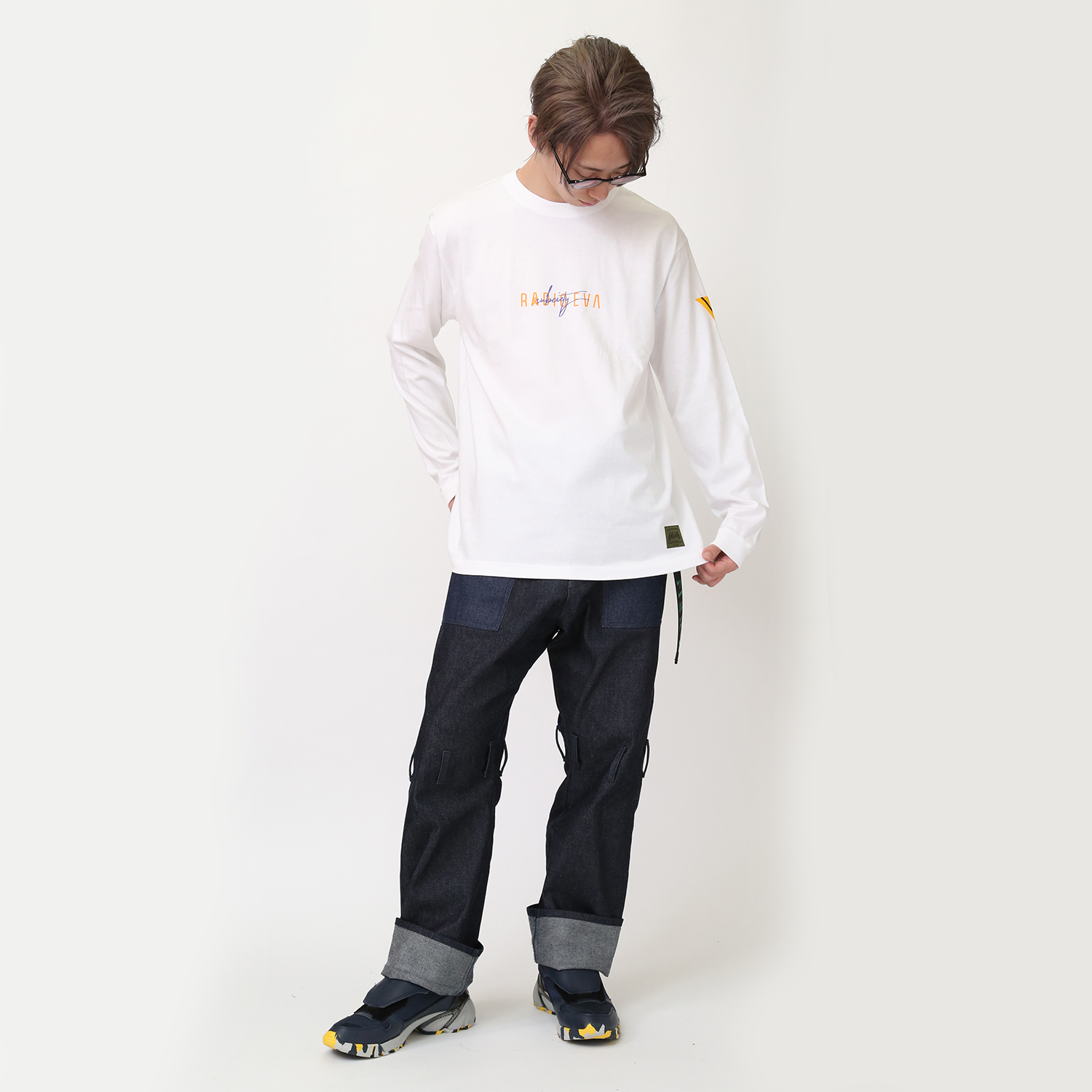 ROSE 01 L/S T-Shirt (WHITE)