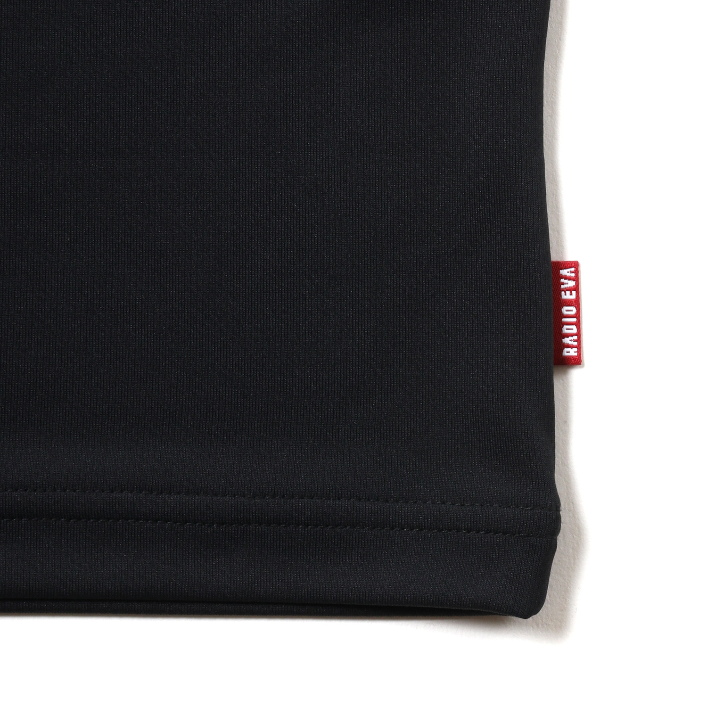 SPALDING EVA-01 Dry mesh T-Shirt (Black x Red)