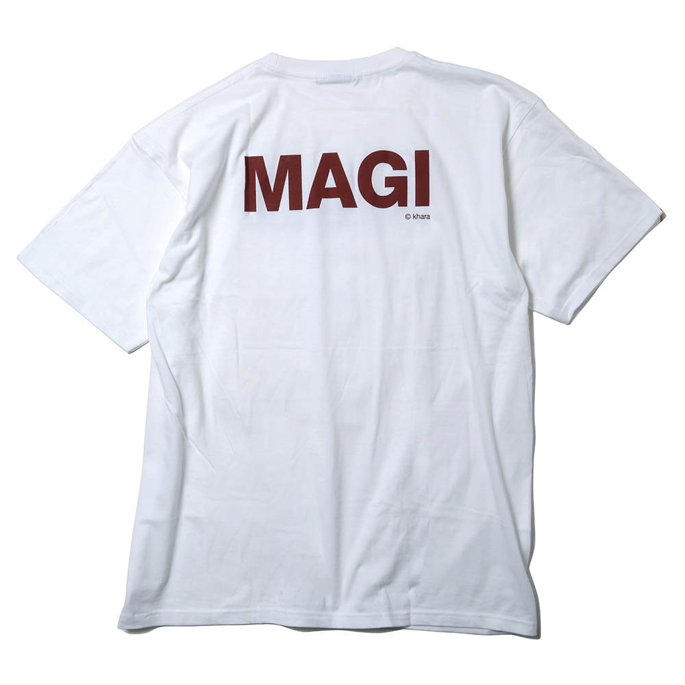 MAGI SYSTEM BIG T-Shirt (BALTHASAR(ホワイト))