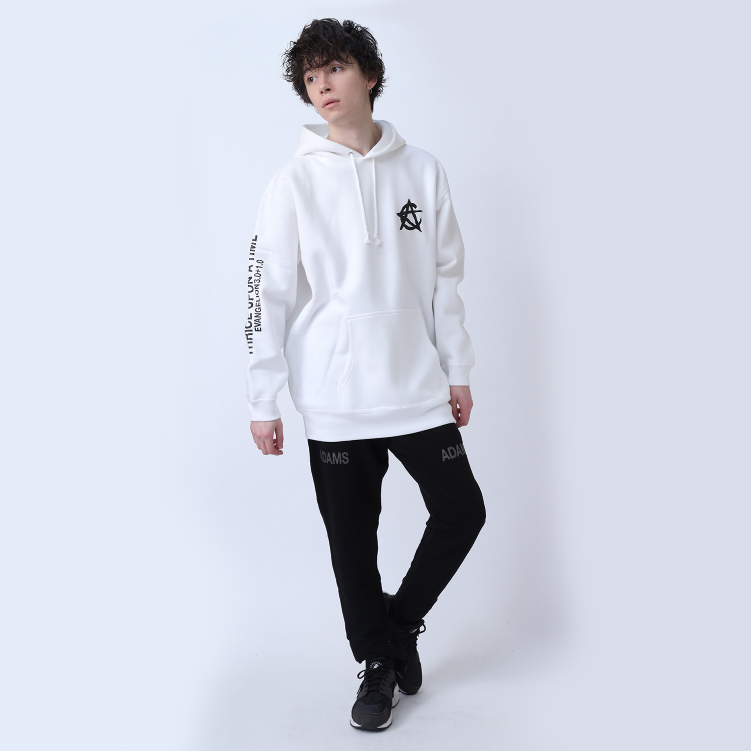 CIRCLE EVA Parka (WHITE)