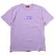 EVANGELION BOX LOGO T-Shirt (ライトパープル)