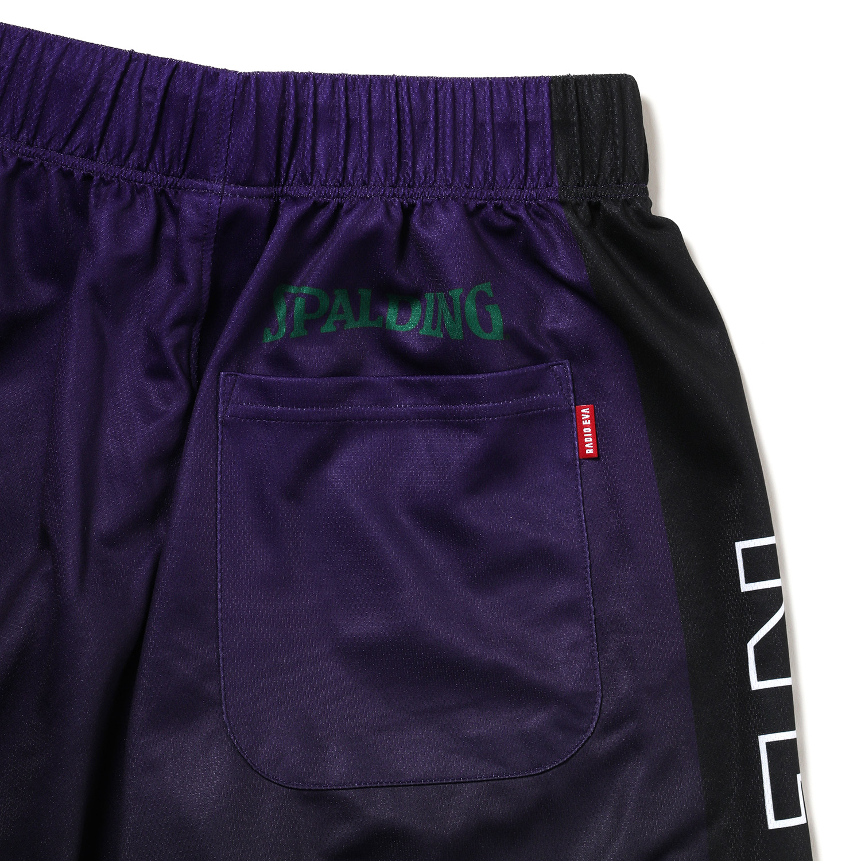 EVA-01 Practice Pants by SPALDING (Green x Purple)