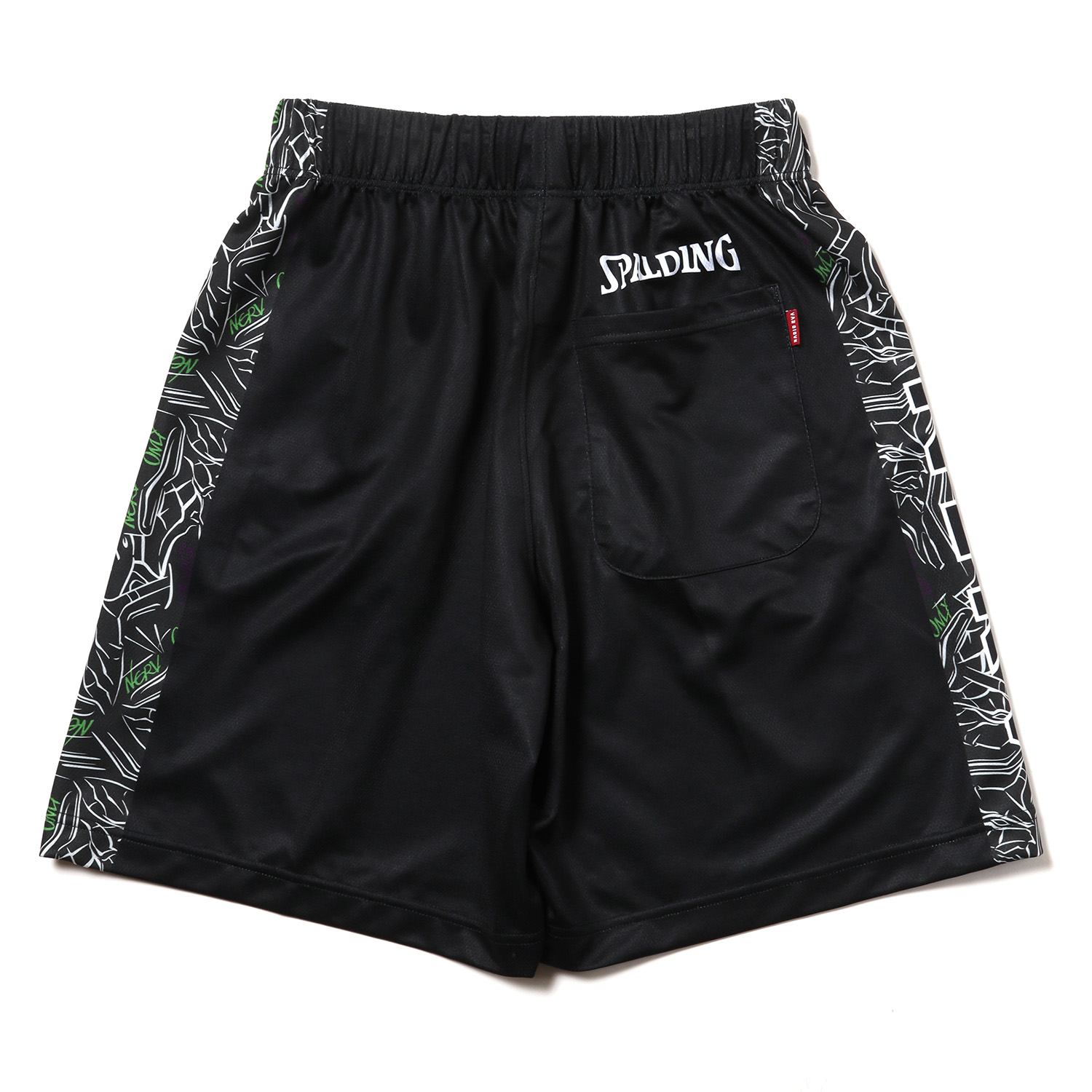 EVA-01 Practice Pants by SPALDING (Black x Multi)
