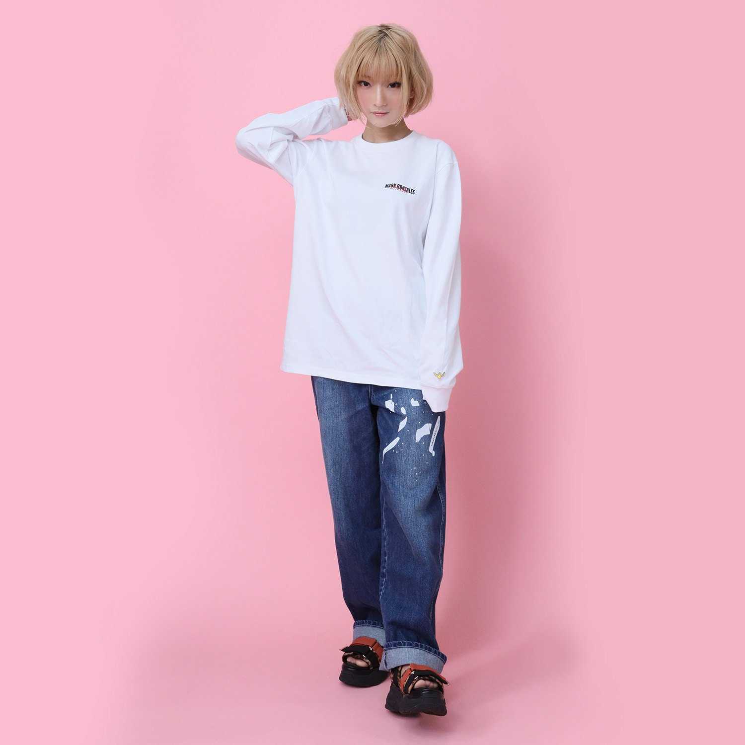 YAMIYO WIDE DENIM (L.INDIGO)