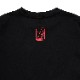 NERV Sweat Shirts by SPALDING (Black x Red)