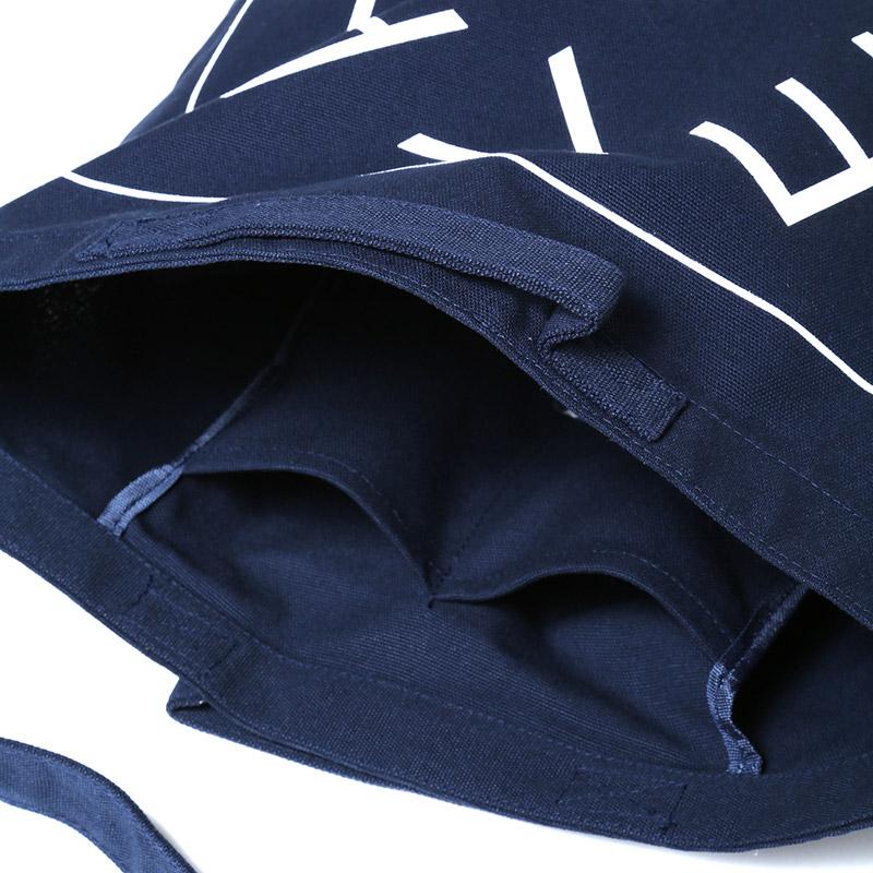 NEW EVANGELION Tote Bag (ブラック)
