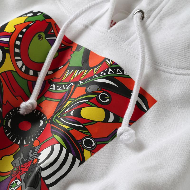 EVA Abstract Art Parka (2号機(ブラック))