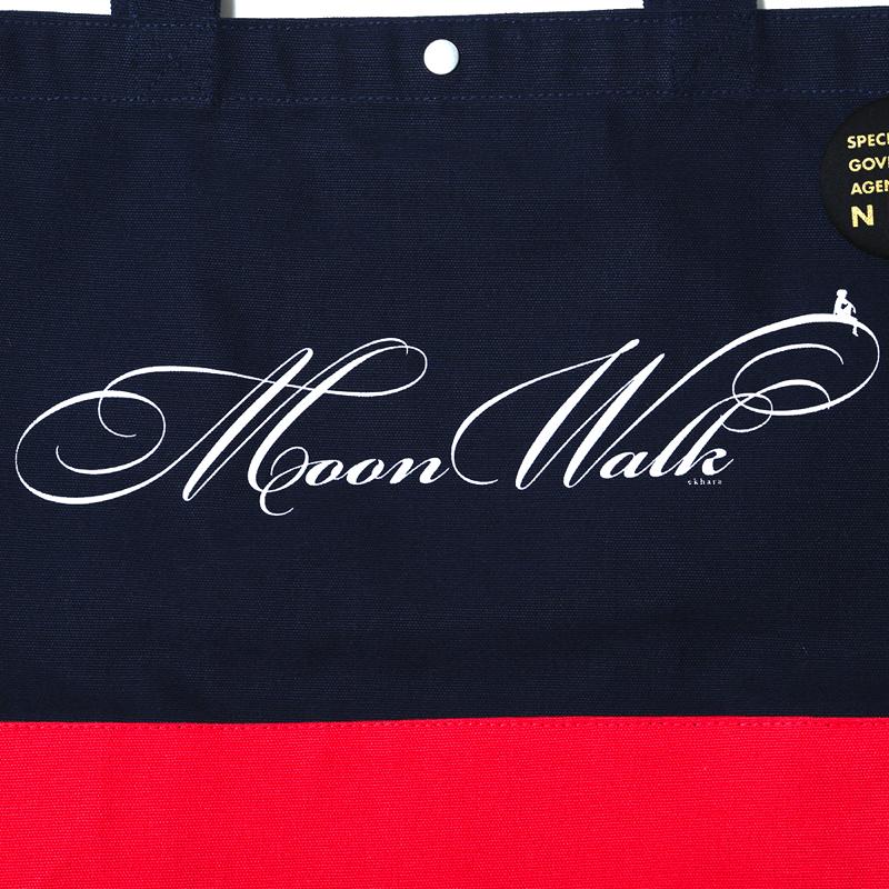 Moon Walk bicolor 2Way Tote Bag(ネイビー)