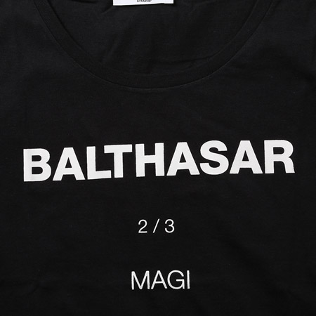MAGI SYSTEM T-Shirt (BALTHASAR(ブラック))