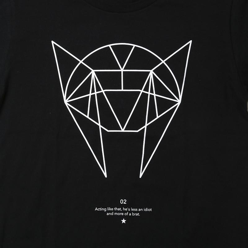 GEOMETRIC ASUKA T-Shirt (ブラック)