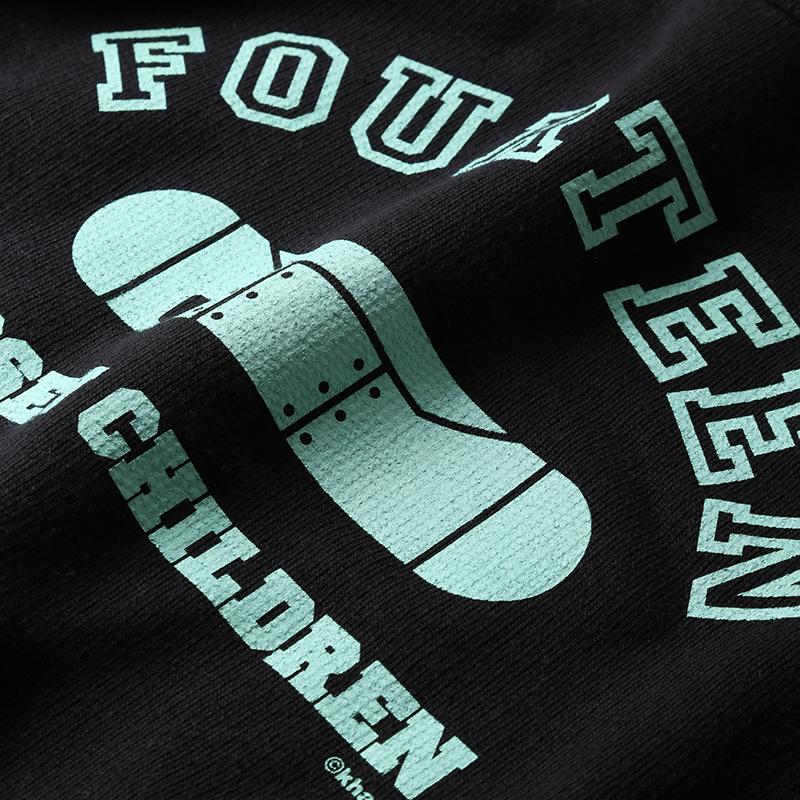 FOURTEEN Sweat (ブラック)