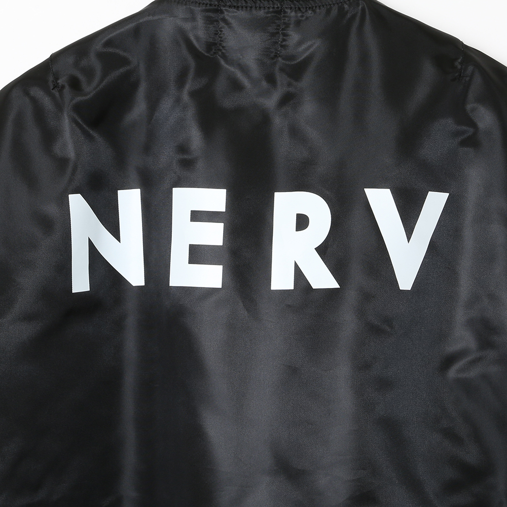 NERV MA-1JACKET (BLACK)