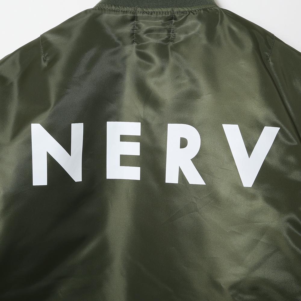 NERV MA-1JACKET (SAGE)