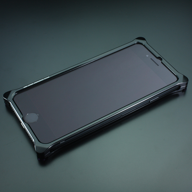 Solid Bumper for iPhone7/8 (RADIO EVA Limited) (Polished Black(初号機))