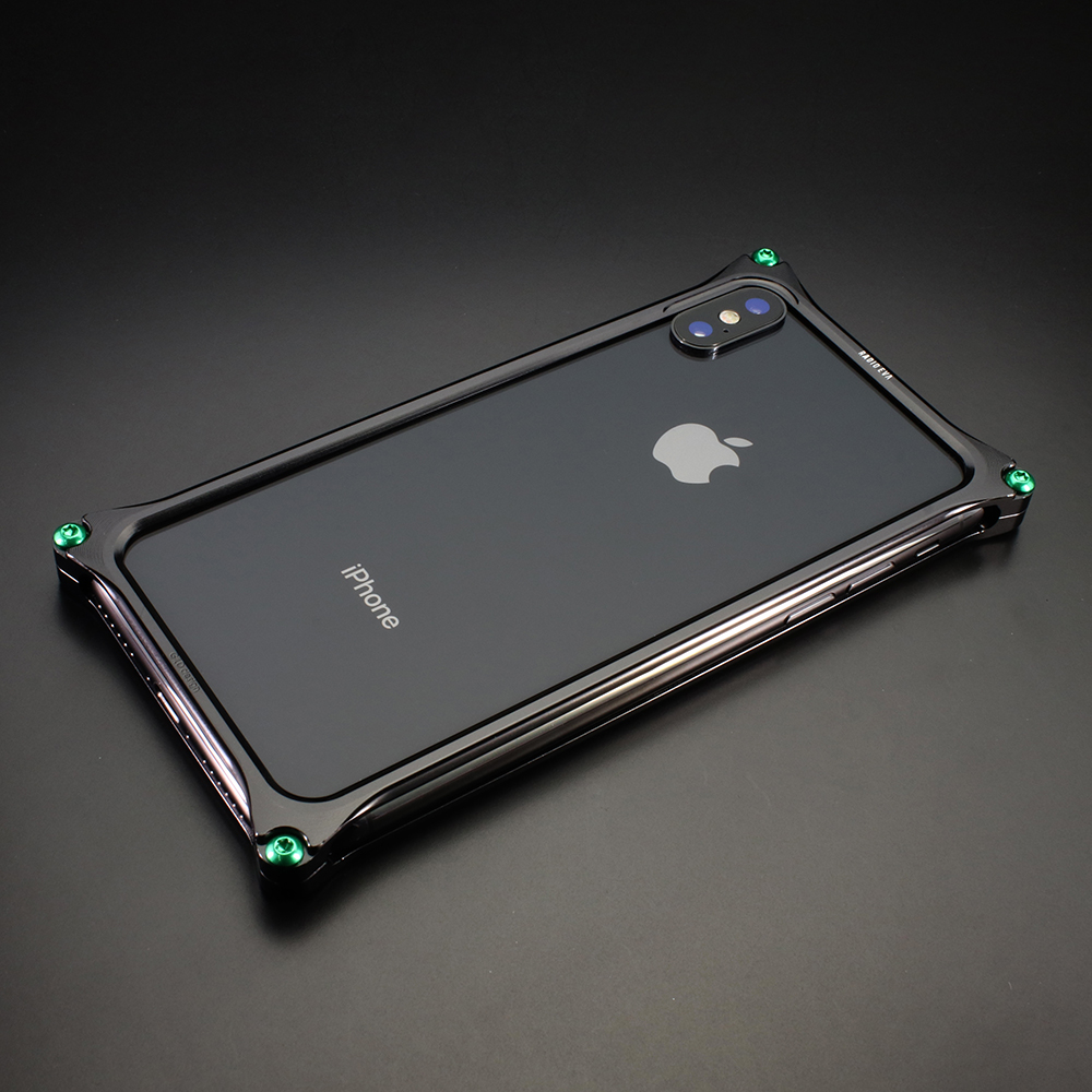 Solid Bumper for iPhone11 (RADIO EVA Limited) (Polished Black(初号機))